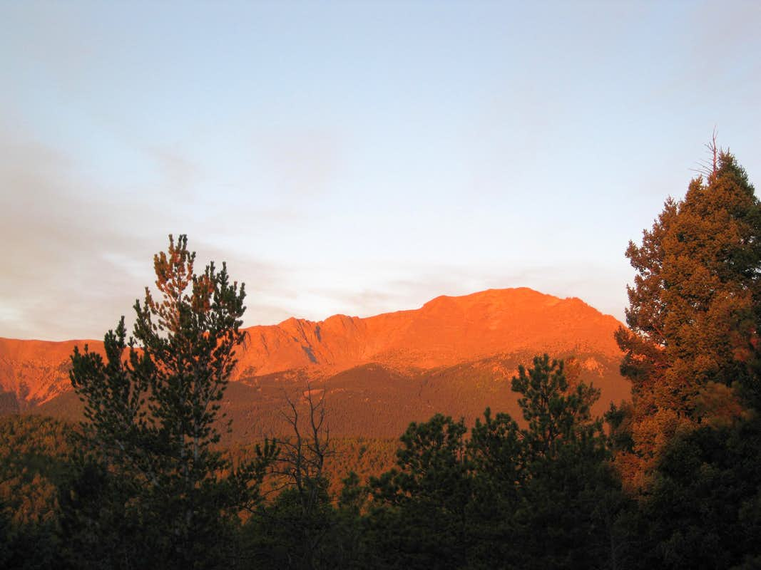 Pikes Peak Sunrise
