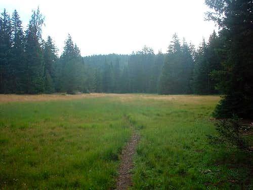 View of Deer Flats, looking...