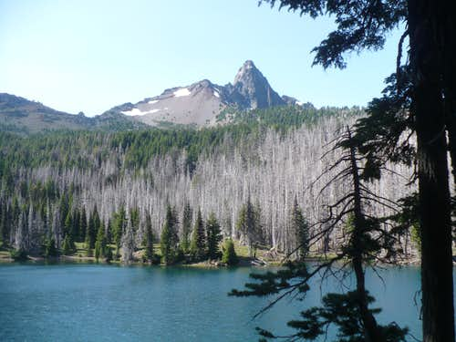 Mt. Washington over George Lake