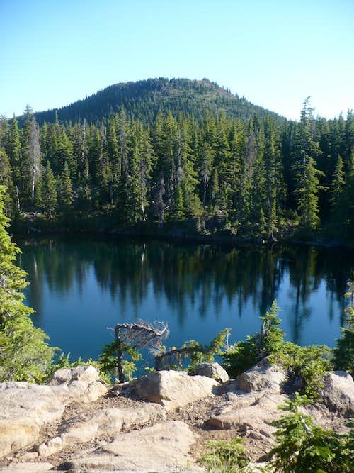 Scott Mountain from Tenas Lakes