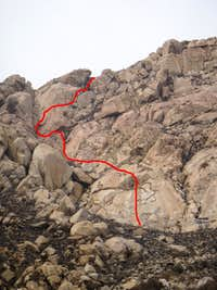 Ashes to Ashes - South Arete Variation