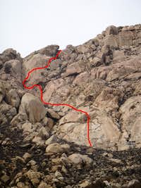 South Arete Variation