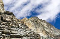 Matterhorn  liongrat-italian normal route