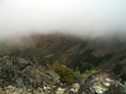 Foggy summit
