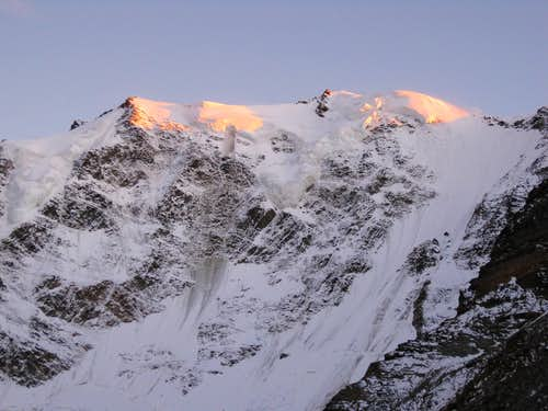 North Face of the Fletschhorn