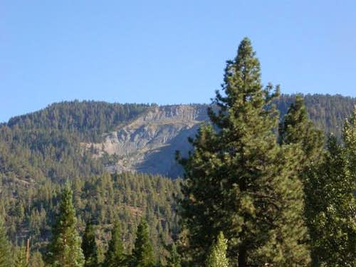 Wright Mtn from Wrightwood