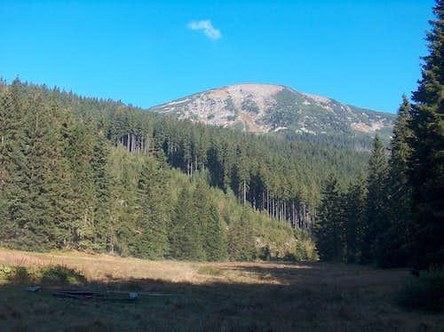 Panorama from Obří důl