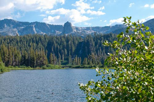 Twin Lakes and Crystal Crag