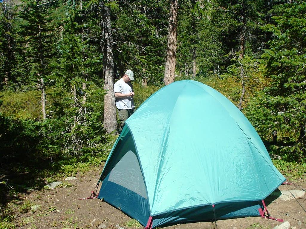 Base Camp on the Creek