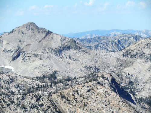 east face Plummer Peak