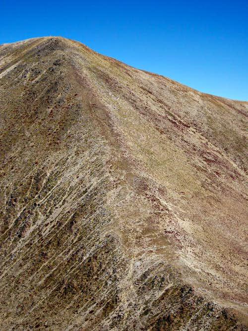 South slopes of Thunder Mountain
