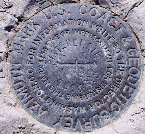 Mt. Lukens Survey Mark