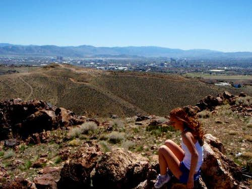 Hiking Peavine