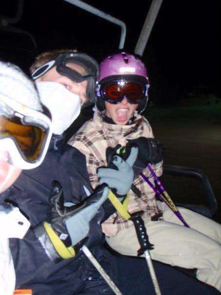 Night Skiing!
