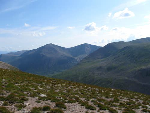 Cairn Toul, and Braeriach