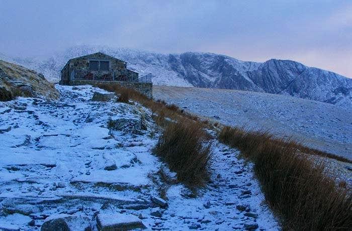 Half Way House on the Llanberis Path to Snowdon