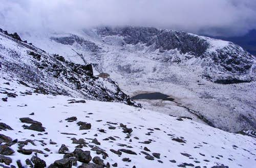 View from Snowdon's Rangers Path