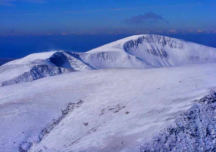 Ridge from Moel Elio