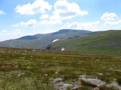 McDui from Cairngorm plateau