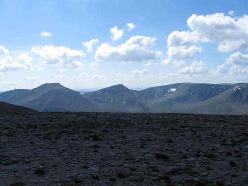 Cairn Toul, The Angel's Peak and Breariach