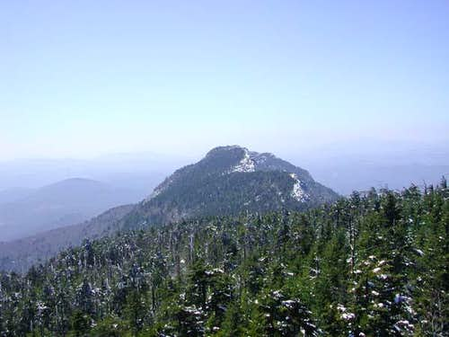 View from Calloway Peak...