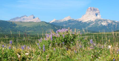 Gable Mountain & Chief Mountain
