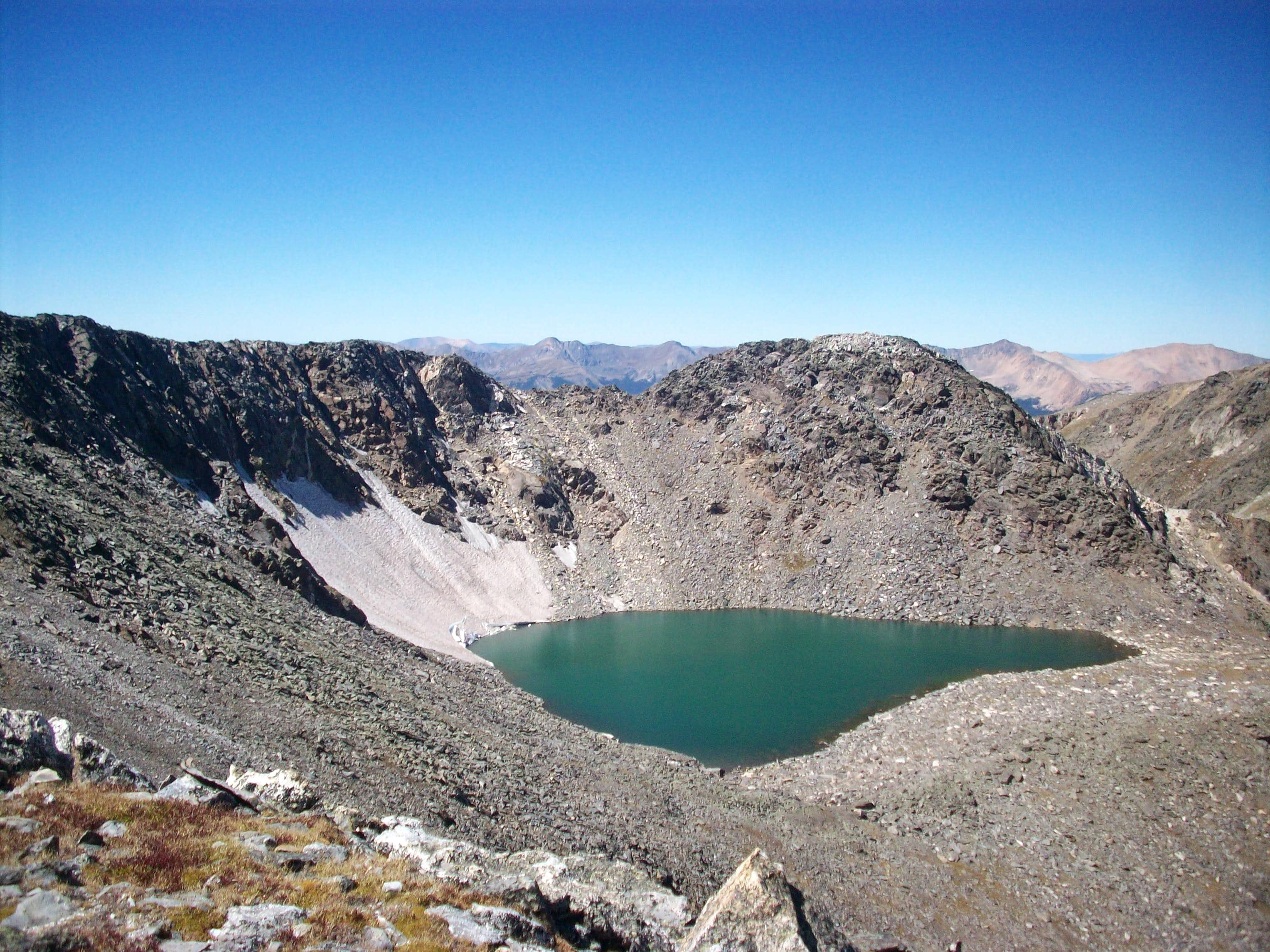 Aggregated Gorge Lakes Area Summits