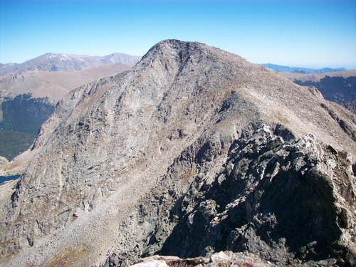West ridge of Mount Julian