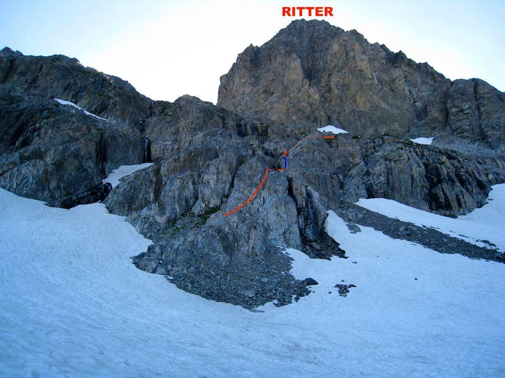 Route to SE Glacier