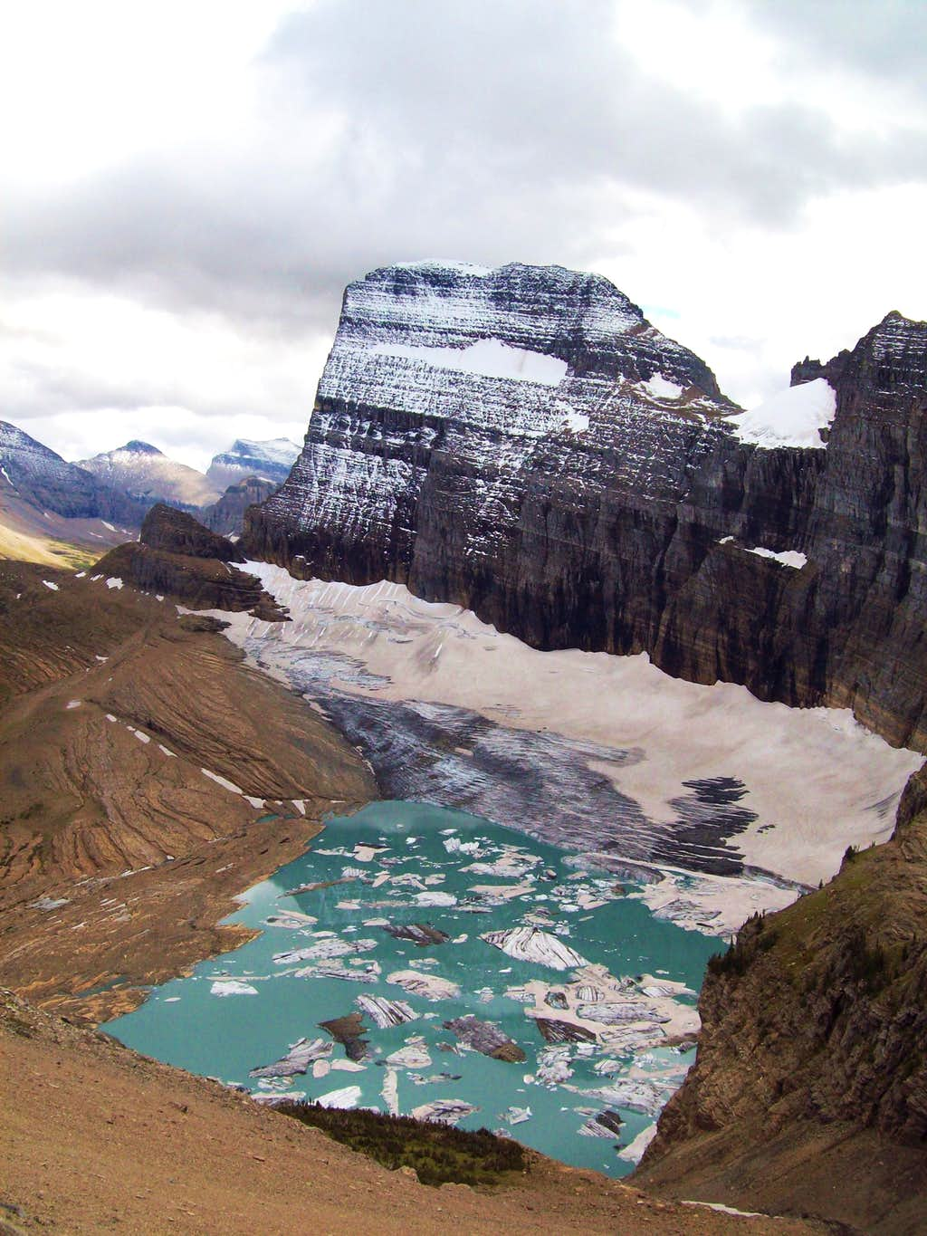 Two Glaciers and a Huge Face