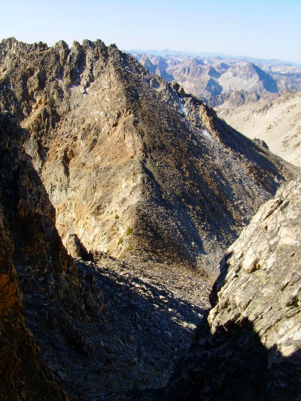 Southwest Couloir Thompson Peak