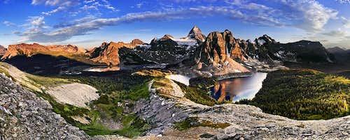 MOUNT ASSINIBOINE - CANADIAN LEGENDS