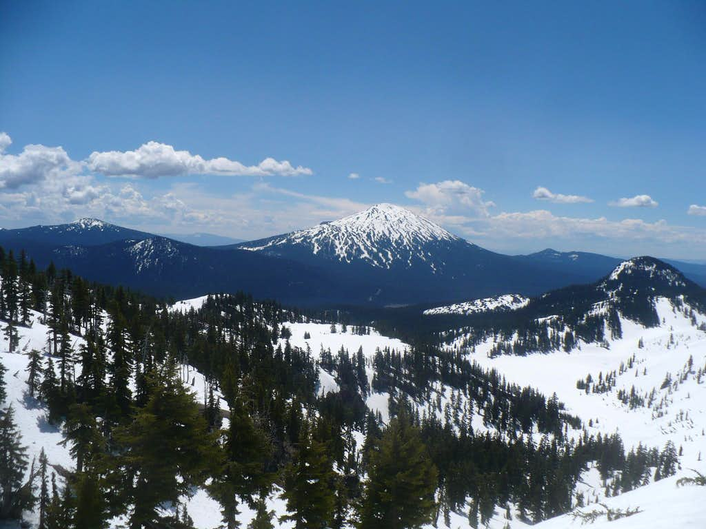 Mt. Bachelor from the north