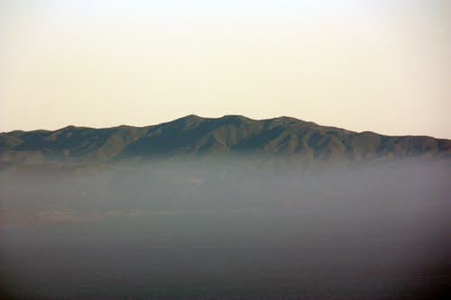 Montara Mtn. from the Marin Headlands