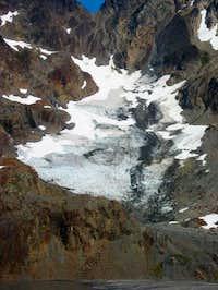 Closeup of Anderson Glacier...