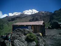 The mountain from La Joya,...