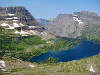 Bearhat Mountain & Mount Cannon over Hidden Lake