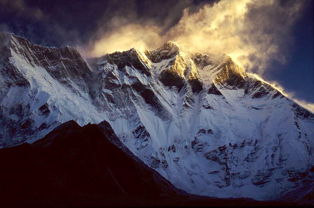 Lhotse South Face, morning