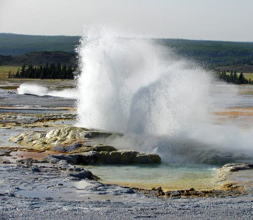 Fountain Paint Pot geyser