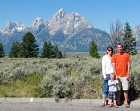Snake River lookout family photo