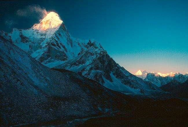 Dawn over the Himalaya