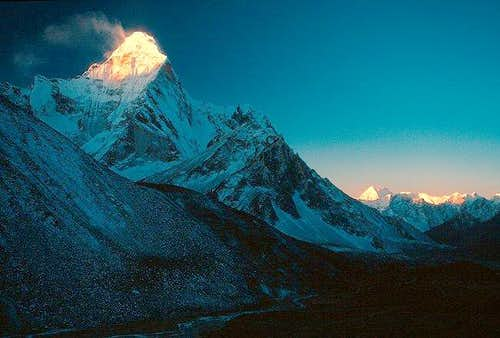 Dawn over the Himalaya