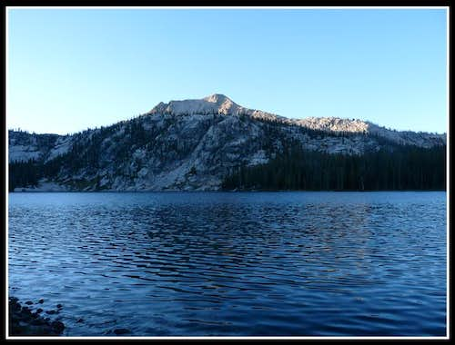 Glens Peak From Ardeth Lake