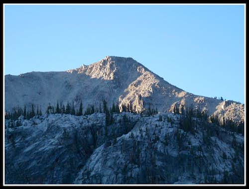 Close Up Look At Glens Peak