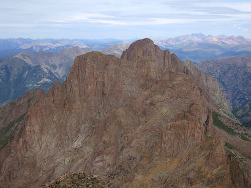 Turret Peak and Pigeon Peak
