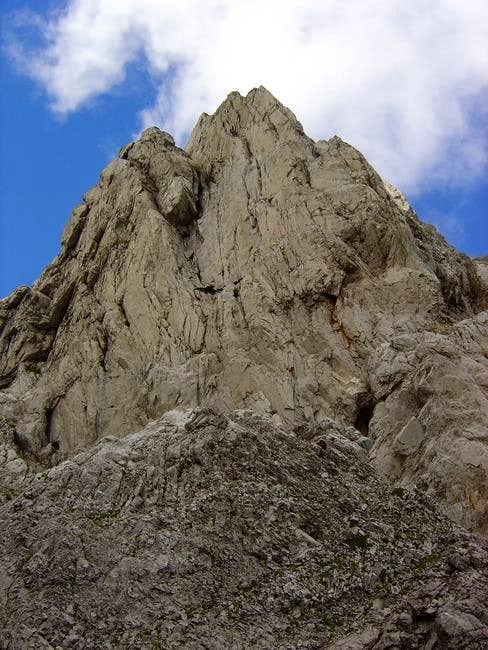 The Punta del Achar de Alano...