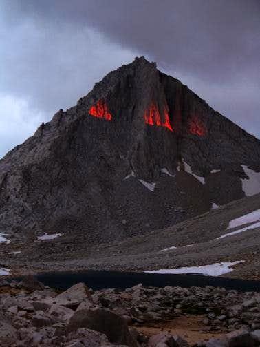 Strange Light on Merriam Peak