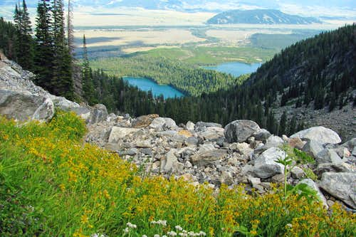 Bradley Lake & Taggart Lake