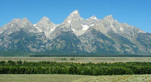 Tetons from near Glacier View Turnout