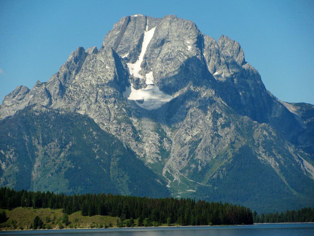 Mt. Moran from Jackson Lake Junction